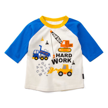 "Machinery Truck 7"" Sleeve T-shirt"