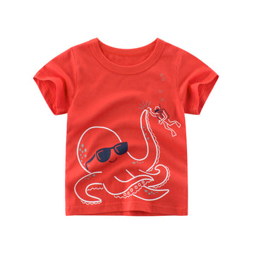 Summer T-shirt _ Octopus