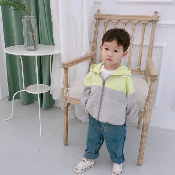 Toddler Fall Jacket with Bear Ears秋季儿童熊耳朵外套