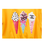 Merry Kate Icecream Tee - Yellow