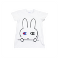 Cham Bunny Dress T - White