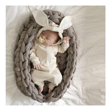 LALA Rabbit Suit - Beige