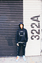 """Blank Canvas"" Hooded Sweatshirt (Black)"