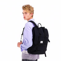 KAUKKO Backpack for daily use, KF10 ( Black / 16.6L )