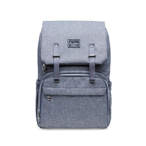 KAUKKO Diaper Bag Baby Backpack (light grey)