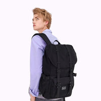 KAUKKO Backpack for city trips, EP5-8 ( Black / 20.5L )