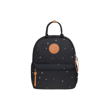 KAUKKO Casual Daypack Student Outdoor Bag Stylish, K1005-5 ( Black / 8.2L )