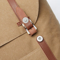 KAUKKO Backpack for city trips, EP6-3 ( Khaki / 18.1L )