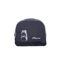 KAUKKO Ultra Lightweight Packable Backpack, Water Resistant Travel Hiking Shoulder Bag ( Black )