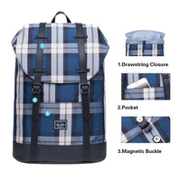 KAUKKO Lightweight Outdoor Daypack,Casual Travel Backpack, EP6-13 ( Blue / 11.8L )