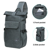 KAUKKO Backpack  for Cycling, KF11( Grey Green )
