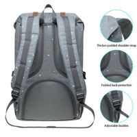 KAUKKO Backpack for city trips, EP5-12 ( Grey /19.7L )