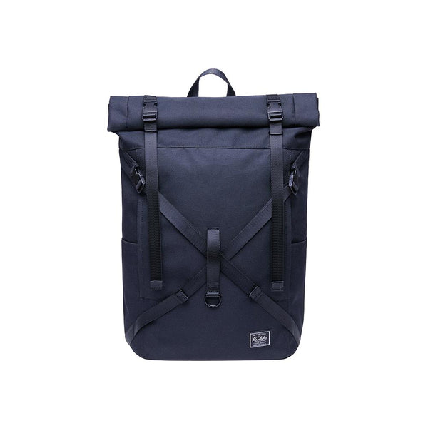 KAUKKO Backpack for daily use,  KF07( Black  / 17.8L )
