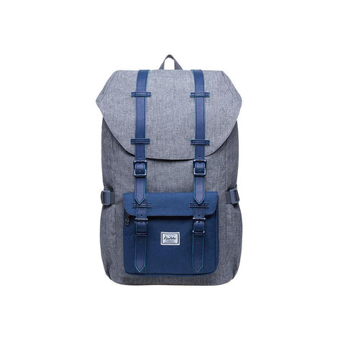 KAUKKO Backpack for city trips, EP5-4 ( Grey Blue / 20.3L)