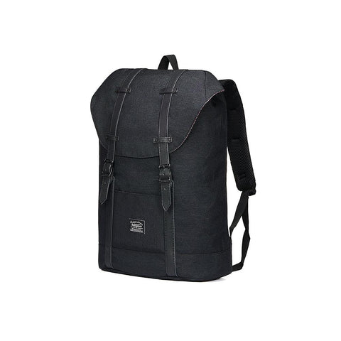 Travel Casual Backpack & Laptop Daypack, EP6 ( Black / 18.5L )