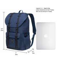 KAUKKO Backpack for city trips, EP5-18 ( Blue /21.1L )