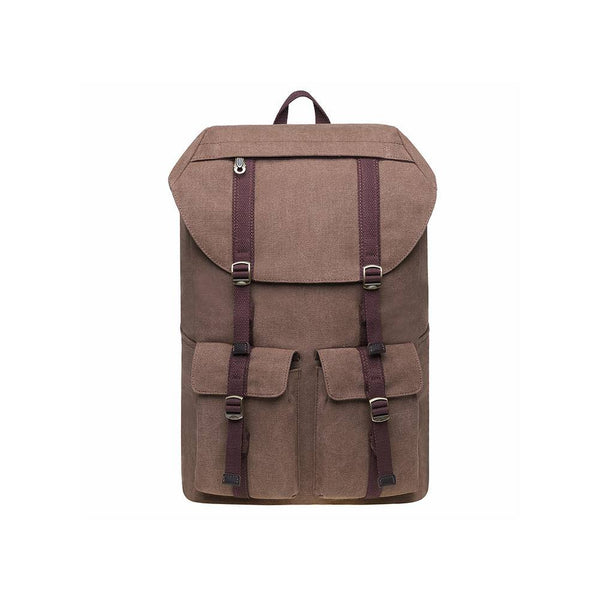 KAUKKO Backpack for Hiking Tours, KD01-2 ( Khaki / 20.7L )