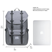 KAUKKO Backpack for city trips, EP5-6 ( LIGHTGREY / 16.1L )