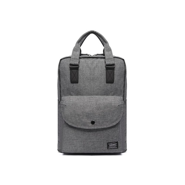 Stylish Oxford Fabric Backpack ( Light Grey )