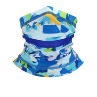 KAUKKO Face Mask Mouth Cover Bandanas for Dust, Outdoors, Festivals, Sports