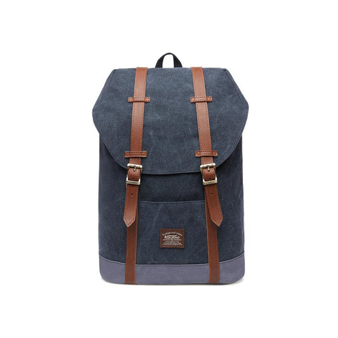 KAUKKO Backpack for city trips, EP6-3 ( Black / 18.1L )
