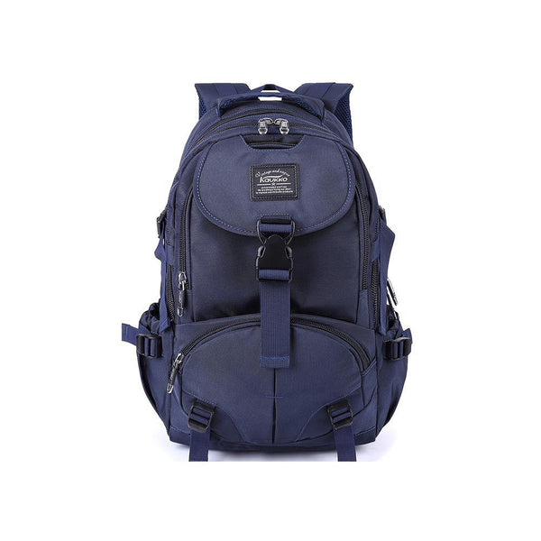 KAUKKO Backpack for School, K1028 ( Blue / 23.3 L )