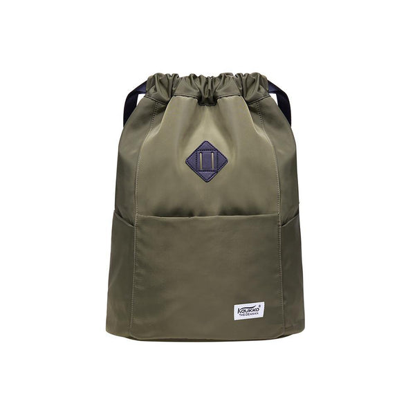 Gym Yoga backpack Shoulder Rucksack for Men and Women ( Army Green )