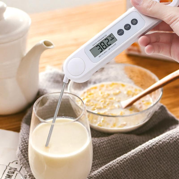 Digital Meat Thermometer – Lightning Fast Precise Readings with Backlight Display, Memory Function
