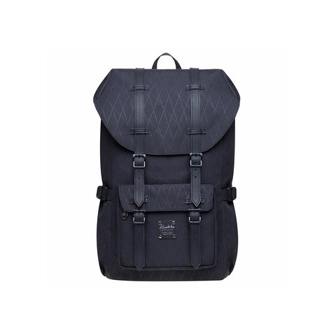 KAUKKO Backpack for city trips, EP5-18 ( Black /21.1L )