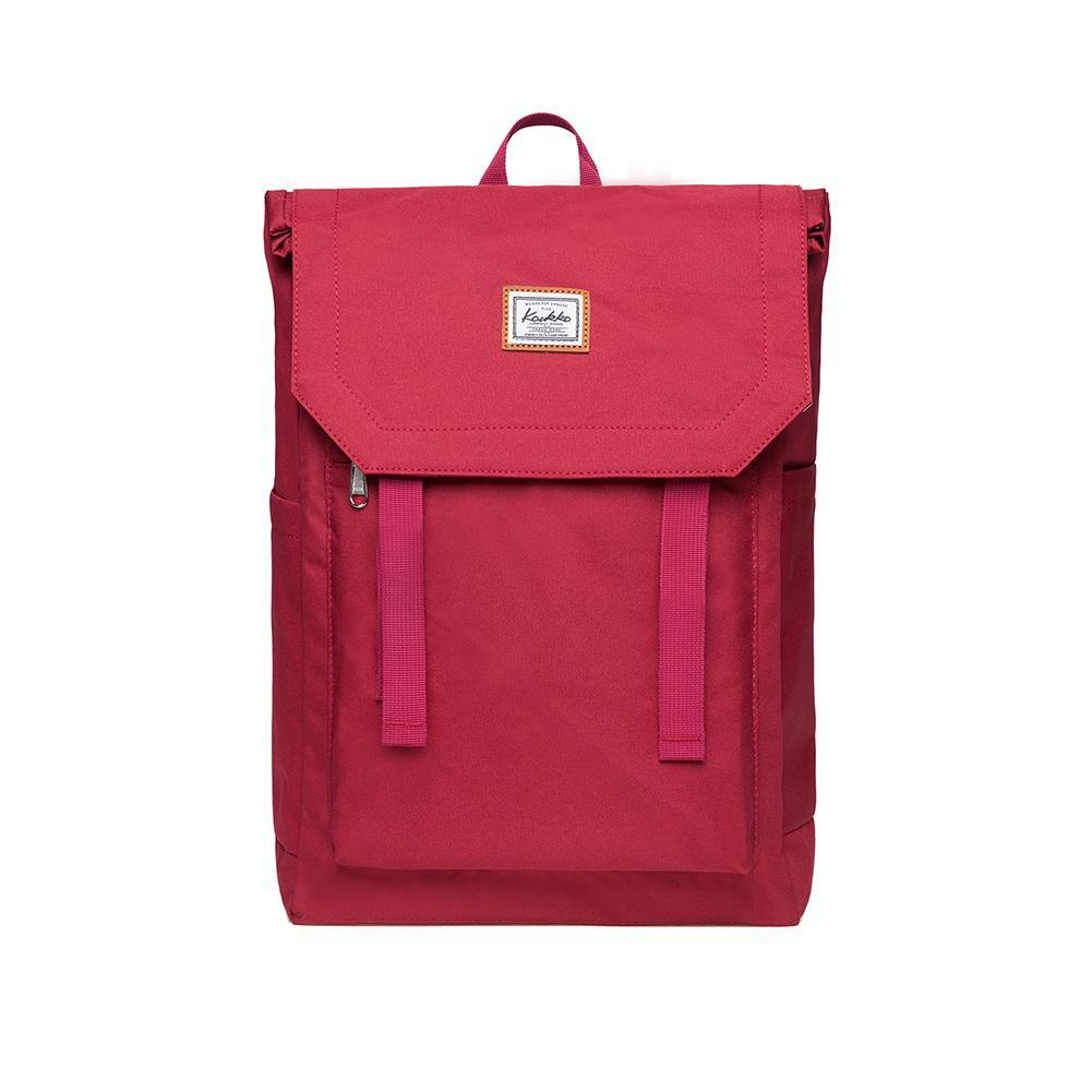 KAUKKO Backpack for city trips, KF14 ( Red / 21L )