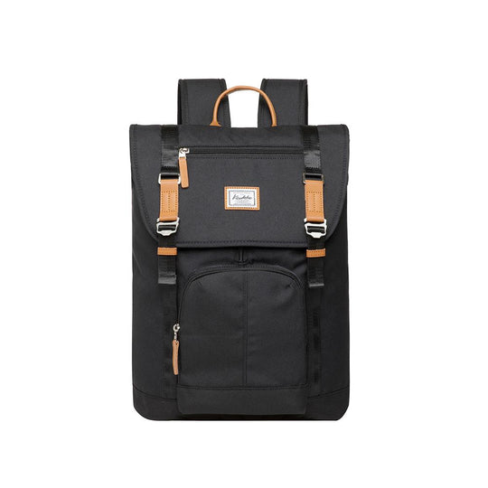 KAUKKO Backpack for city trips, KF13 ( Black / 22.87L )