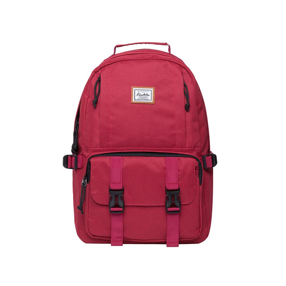KAUKKO Backpack for School,  KS21 ( Red / 18.4L )