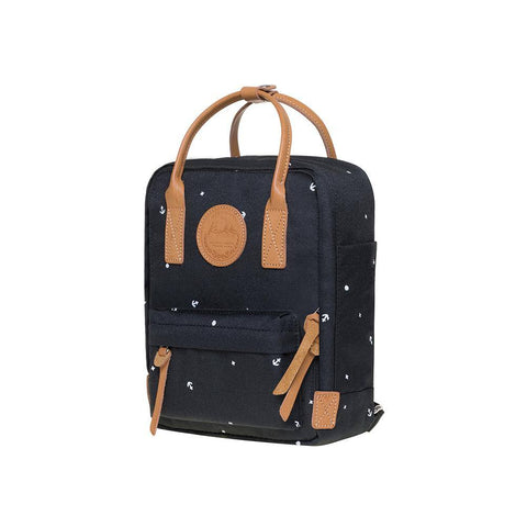 KAUKKO Backpack for daily use,  K1007-5 ( Black / 5.5L )