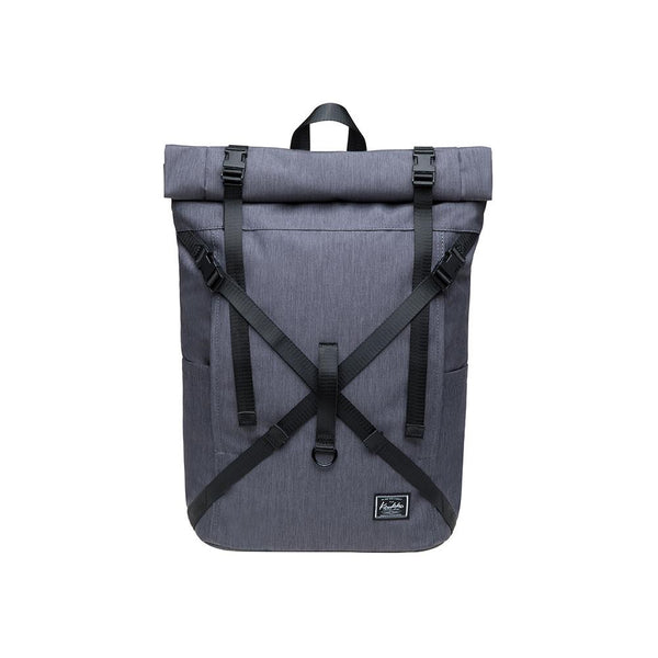 KAUKKO Backpack for daily use, KF07-2 ( Grey / 17.8L )