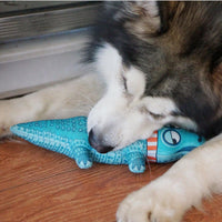 Squeak toys for dogs - Robust chew toy for dogs, for cuddling and playing, safe & non-toxic