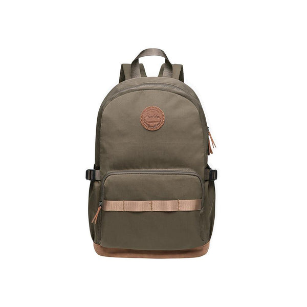 KAUKKO Stylish Oxford Fabric Backpack Travel Rucksack, K1005-2 ( Army Green /17.6L )