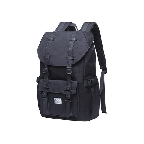 KAUKKO Backpack for city trips, EP5-6 ( Black / 16.1L )
