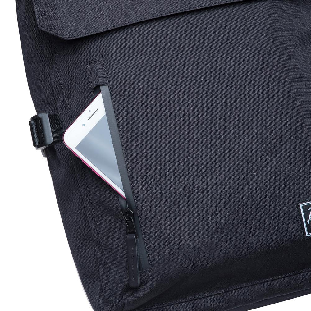KAUKKO Backpack for daily use,  KF12 ( Black / 15.2 L )