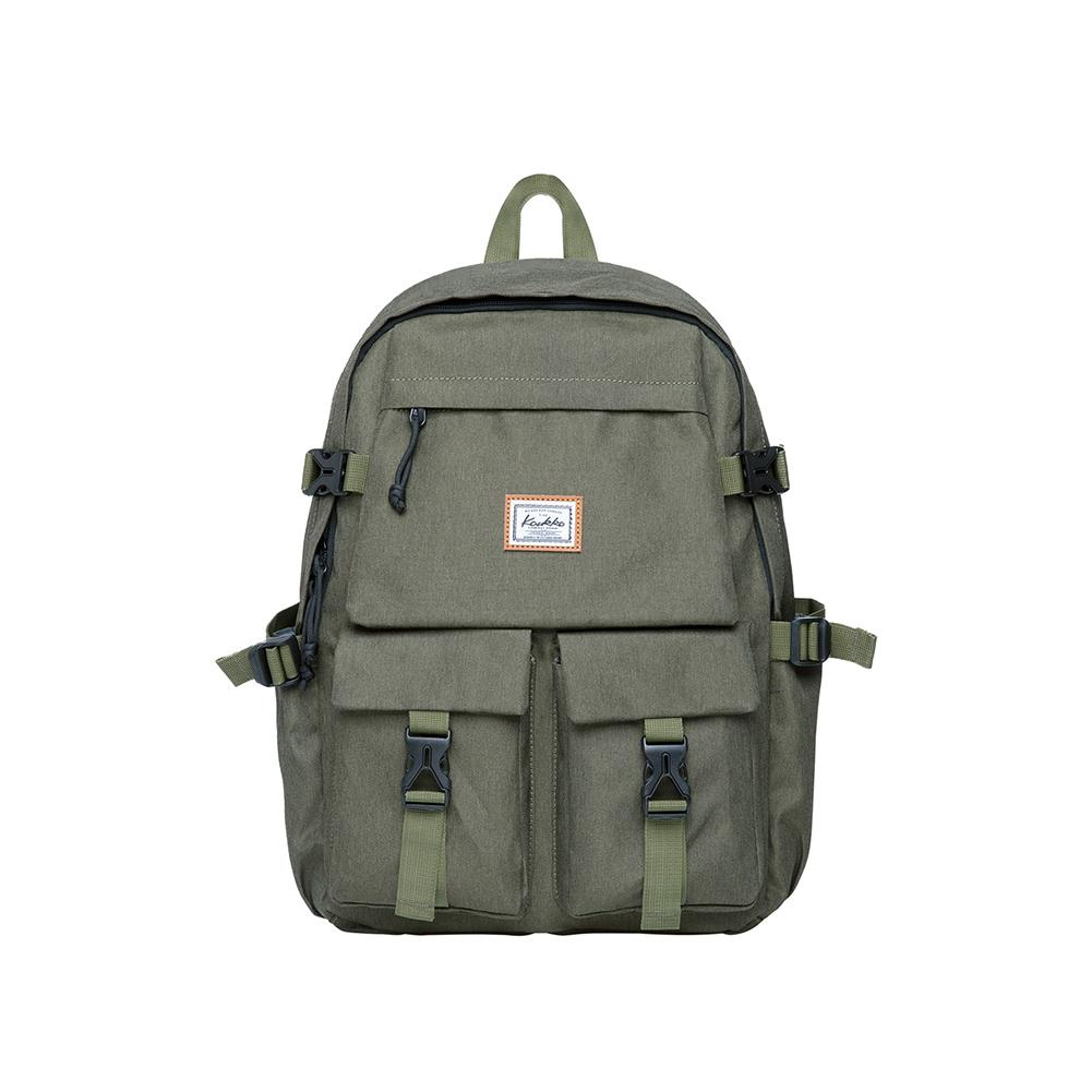 KAUKKO Backpack for School, KS22 ( Green / 18.4L )