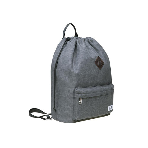 New Drawstring Canvas Bag Sports Bag Backpack Oxfor by KAUKKO