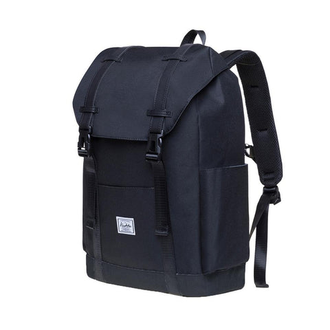 KAUKKO Backpack for city trips, KS12 ( Black /20.6 L  )