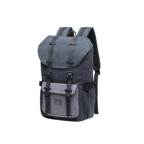 KAUKKO Backpack for city trips, E5-1 ( Black Grey / 20L )