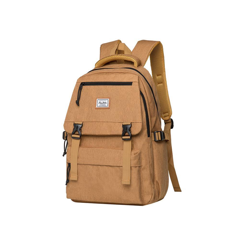 KAUKKO Backpack for School,  KS23 ( Yellow / 18.4L )