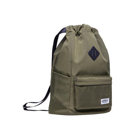 KAUKKO Gym Yoga Shoulder Rucksack for Men and Women ( Army Green)