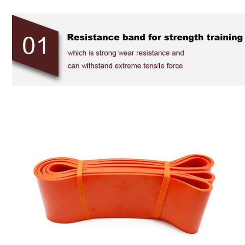KAUKKO Resistance Bands Pull Up Band Assist Stretch Exercise Bands Workout Bands Powerlifting Bands for Yoga Home Workouts Training Physical Therapy Natural Latex Workout Bands Pilates Flexbands