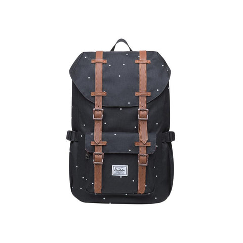 KAUKKO Backpack for city trips, EP5-7 ( Black Point / 16.1L )