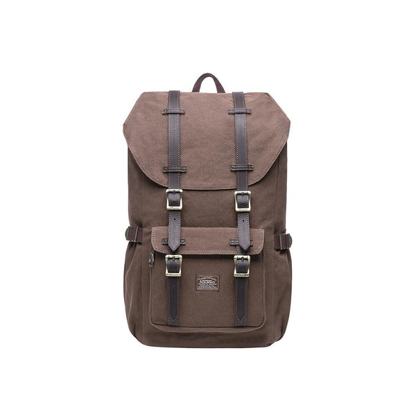 KAUKKO Backpack for city trips, E5-1 ( Coffee / 20L )