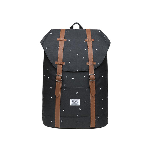 KAUKKO Backpack for city trips, EP6-10 ( Black / 11.8L )