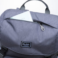 KAUKKO Backpack for daily use, KD02 ( Grey / 17.6L )