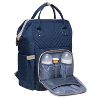 KAUKKO Lightweight Backpack, KT01-4 ( Mediterranean Blue / 18L)
